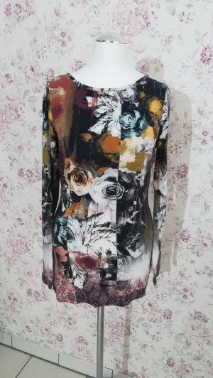 Druckshirt Linea TESINI geblümt