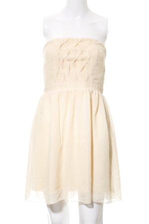 "Dry Lake schulterfreies Kleid ""Olivia Dress"" nude"