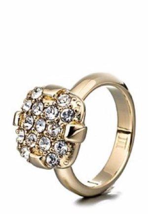 Dryberg/Kern Ring mit Swarovski Steinen Gr. 17
