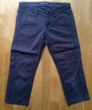 Drykorn 3/4-Hose - brauner Jeanssstoff - Gr. 27