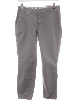 Drykorn Pantalon 3/4 gris style décontracté