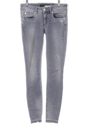 Drykorn 7/8 Jeans hellgrau Casual-Look