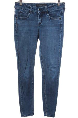 Drykorn 7/8 Jeans dunkelblau Casual-Look