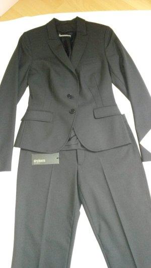 Drykorn Anzug, schwarz, Gr. 3 (38)
