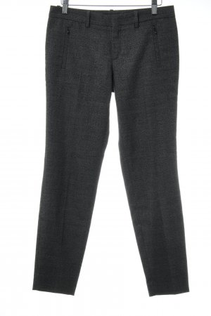 Drykorn Suit Trouser black-white glen check pattern business style