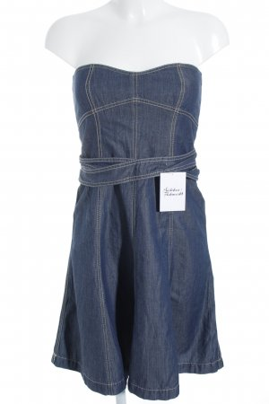 Drykorn Bandeau Dress blue casual look