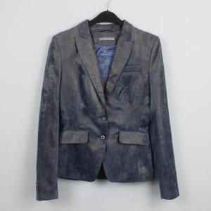 DRYKORN Blazer Gr. 2 / S blau Goldschimmer (18/9/475)