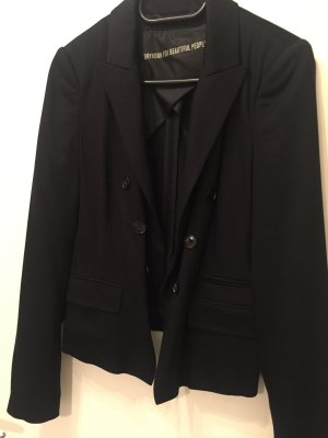 Drykorn Blazer, schwarz, Größe S/36
