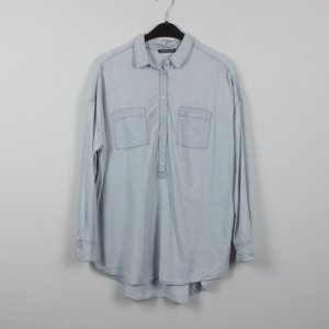 Drykorn Bluse Gr. 3 (M) Denim Look oversized