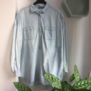 Drykorn Bluse Gr. 3 (M) Denim Look oversized