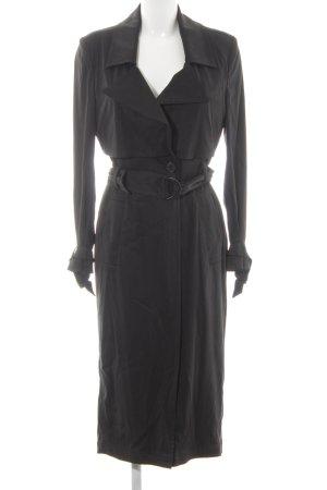 Drykorn Abrigo largo negro elegante