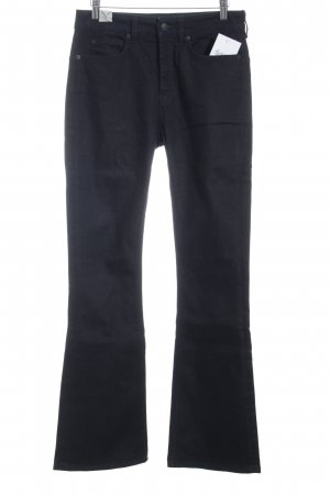 Drykorn Boot Cut Jeans dunkelblau Casual-Look