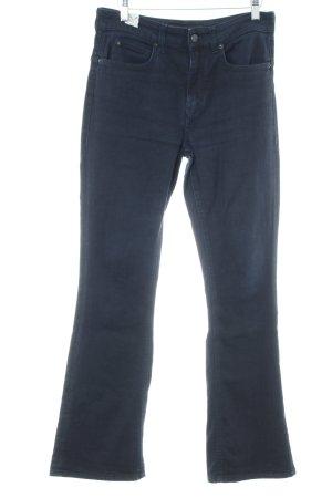 Drykorn Boot Cut Jeans dunkelblau schlichter Stil