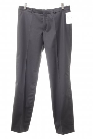 Drykorn Bundfaltenhose dunkelblau Business-Look