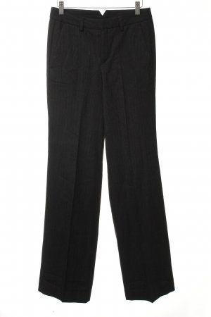 Drykorn Pleated Trousers dark brown pinstripe business style