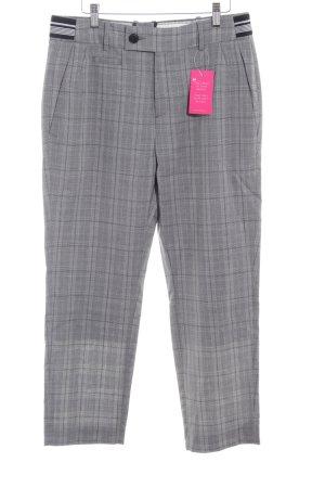 Drykorn Pantalon à pinces motif Prince de Galles style d'affaires