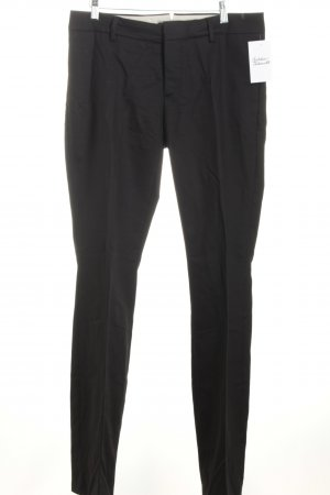 Drykorn Bundfaltenhose schwarz Business-Look