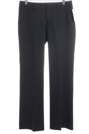 Drykorn Pantalon à pinces noir style d'affaires