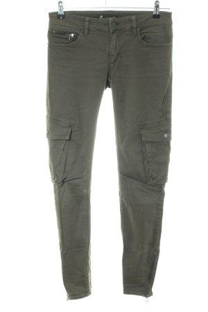Drykorn Pantalone cargo cachi stile casual