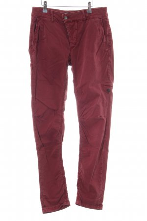 Drykorn Cargo Pants red casual look