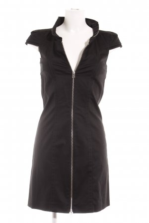 Drykorn Vestido de camuflaje negro elegante