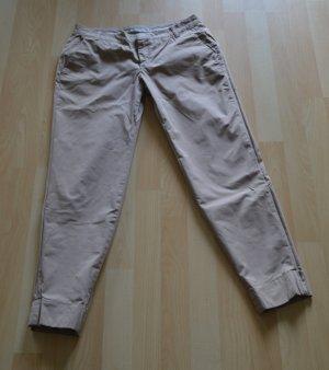 Drykorn Chino 7/8 Länge, beige, Gr. 28/34