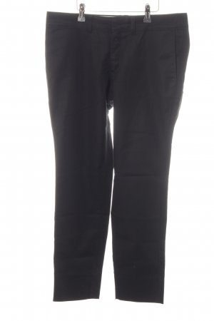Drykorn Chinohose schwarz Casual-Look