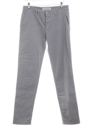 Drykorn Chinohose grau minimalistischer Stil