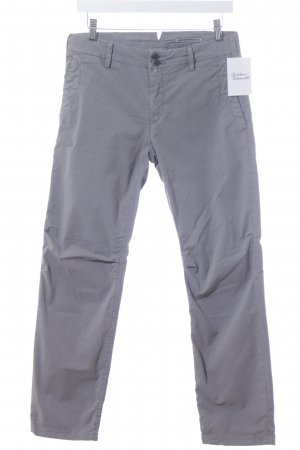 Drykorn Chinohose grau schlichter Stil