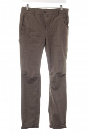 Drykorn Chinohose Karomuster Business-Look