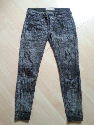 Drykorn coole Jeans grau/schwarz Gr.28/32 top
