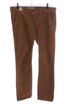 Drykorn Pantalón de pana marrón look casual