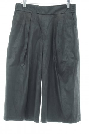 Drykorn Culottes schwarz abstraktes Muster Casual-Look