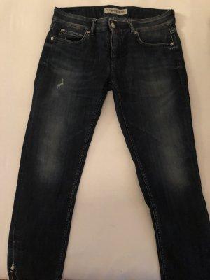 Drykorn Skinny jeans donkerblauw