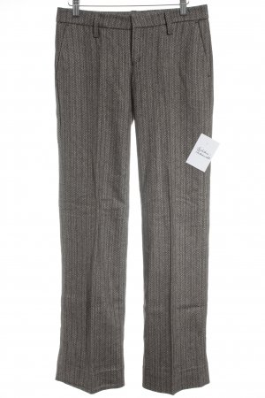 DRYKORN FOR BEAUTIFUL PEOPLE Pantalone a pieghe spina di pesce Stile Brit
