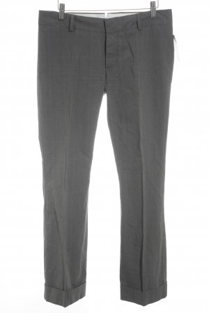 DRYKORN FOR BEAUTIFUL PEOPLE Bundfaltenhose grau Glencheckmuster Business-Look