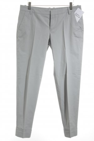 DRYKORN FOR BEAUTIFUL PEOPLE Bundfaltenhose hellgrau Casual-Look