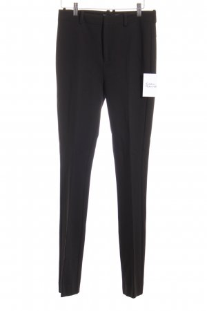 DRYKORN FOR BEAUTIFUL PEOPLE Bundfaltenhose schwarz Business-Look