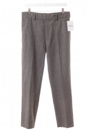 DRYKORN FOR BEAUTIFUL PEOPLE Bundfaltenhose schwarz-grau Business-Look