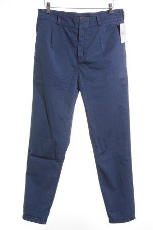 DRYKORN FOR BEAUTIFUL PEOPLE pantalón de cintura baja azul acero look casual