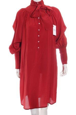 DRYKORN FOR BEAUTIFUL PEOPLE Blusenkleid dunkelrot Street-Fashion-Look