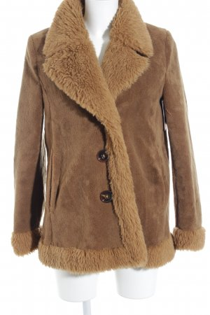 DRYKORN FOR BEAUTIFUL PEOPLE Fake Fur Coat beige-light brown fluffy