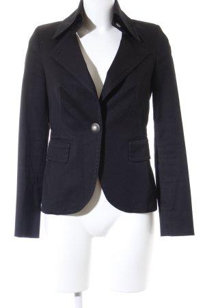 DRYKORN FOR BEAUTIFUL PEOPLE Kurz-Blazer schwarz-weiß Business-Look