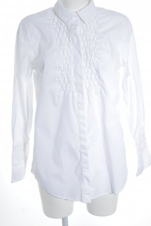 DRYKORN FOR BEAUTIFUL PEOPLE Langarm-Bluse weiß Business-Look