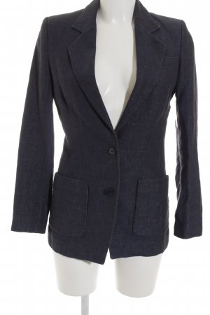 DRYKORN FOR BEAUTIFUL PEOPLE Long-Blazer dunkelblau klassischer Stil