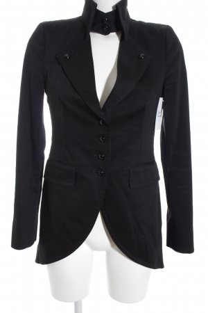 DRYKORN FOR BEAUTIFUL PEOPLE Long-Blazer schwarz Casual-Look