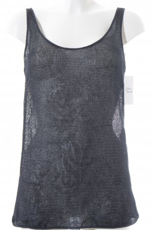DRYKORN FOR BEAUTIFUL PEOPLE Mesh Shirt dark blue transparent look