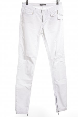 DRYKORN FOR BEAUTIFUL PEOPLE Drainpipe Trousers white casual look
