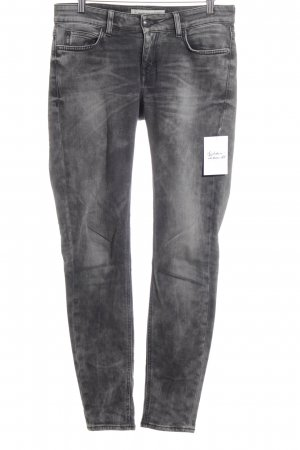 DRYKORN FOR BEAUTIFUL PEOPLE Skinny Jeans grau-hellgrau Farbverlauf