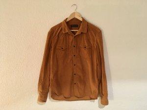 Drykorn Camicia a maniche lunghe marrone